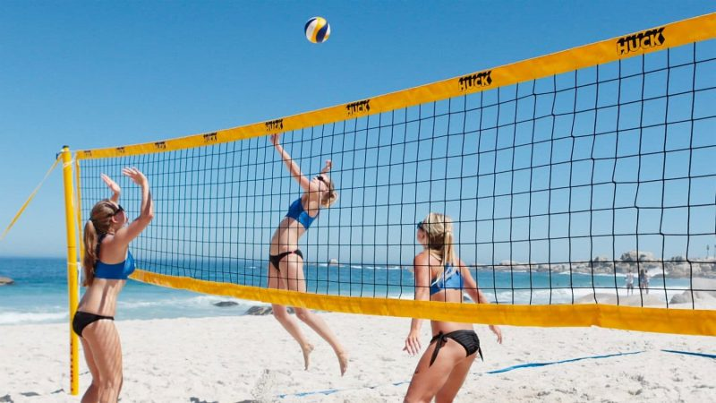 High School Volleyball Net Height